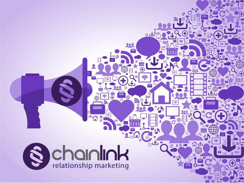 Chainlink Relationship Marketing Content Distribution
