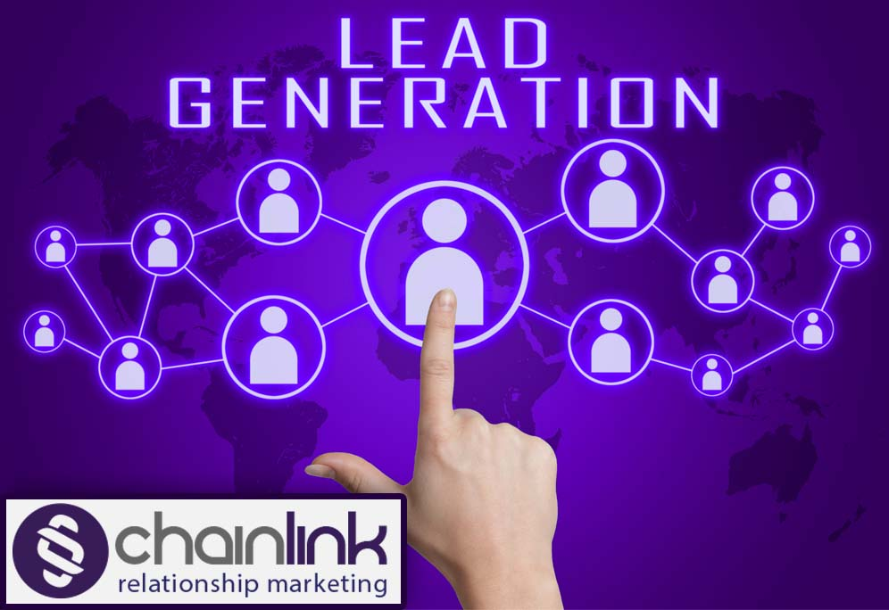 Enterprise class CRM Chainlink Relationship Marketitng Lead Generation