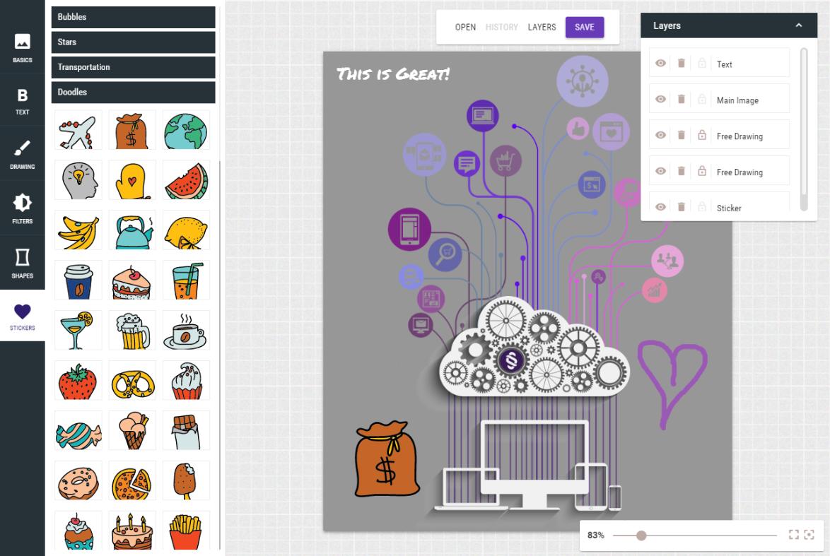 Free Digital Marketing Tools - Free Image Editor