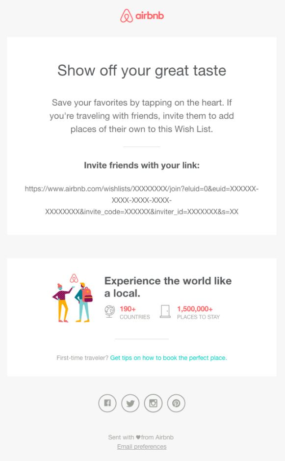 AIRBNB Behavioral Emails