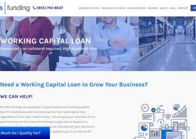 Financial Lender Lead Generation Custom Website & SEO