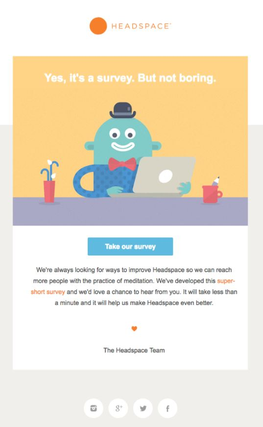 HEADSPACE Behavioral Emails