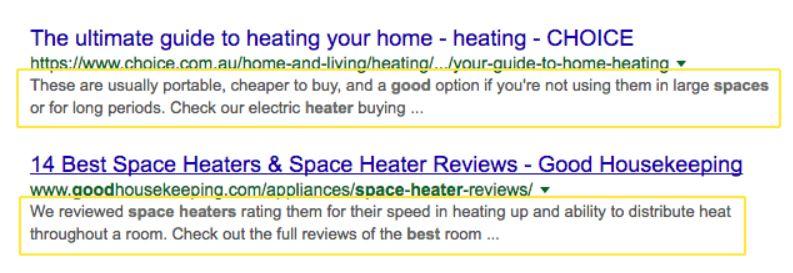 Google's Meta Descriptions Longer Chainlink Relationship Marketing