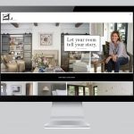 custom interior design ecommerce website