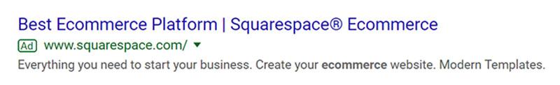 SaaS Company SaaS Company Google Ad Example - Chainlink Relationship Marketing