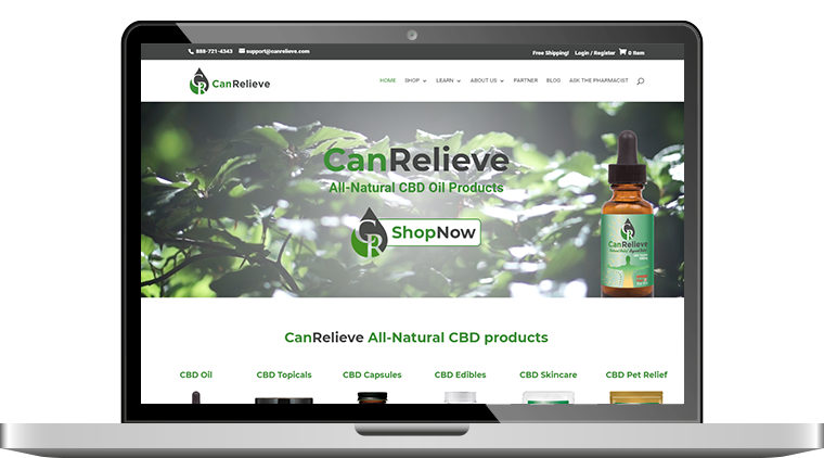 CBD Ecommerce Custom Website with 3rd Party Integrations