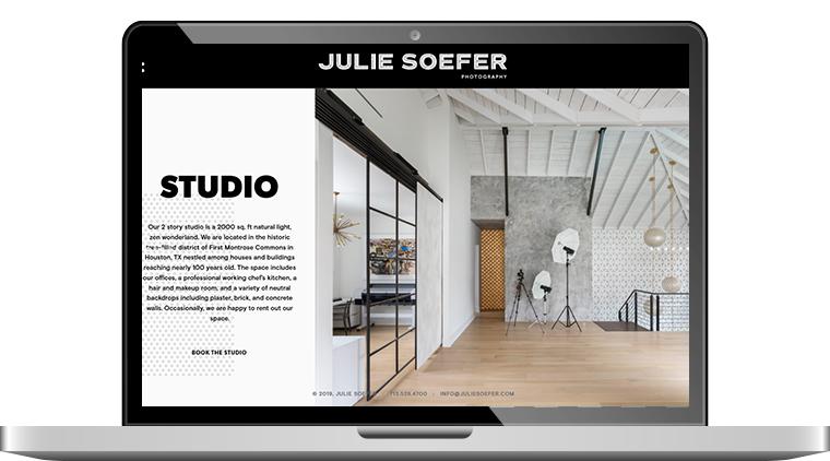 Custom Studio Booking Information